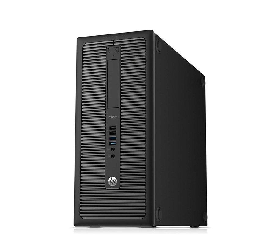 HP ProDesk 600 G1 Pent. G3220 / 4GB/240GB SSD+500GB /W10/RFS (refurbished)