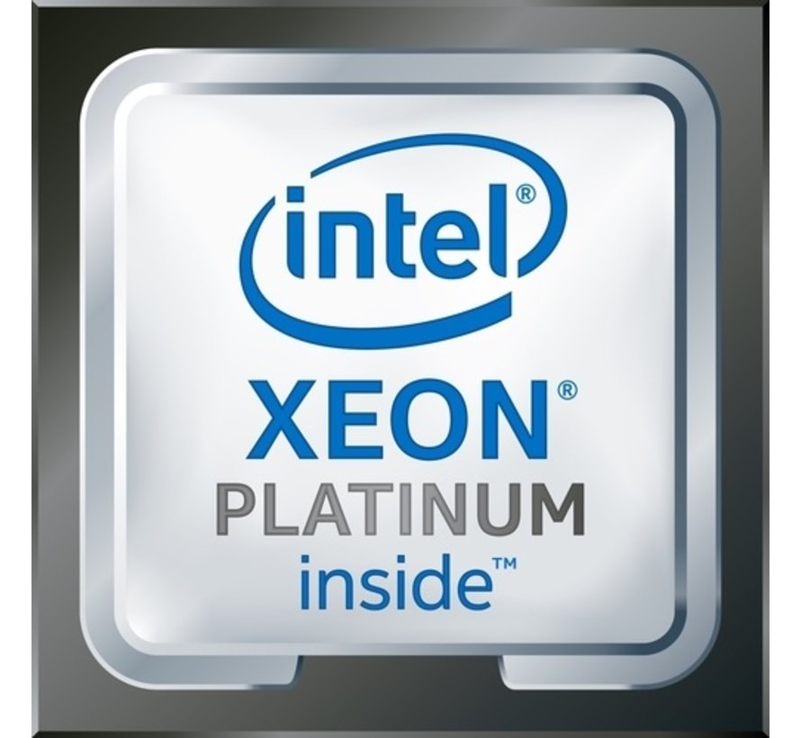 Xeon Platinum 8160, 2,1GHz (3,7GHz Turbo Boost)