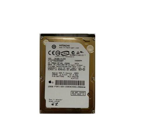 """Western Digital HDD Hitachi PULLED Apple / 250GB / 2,5"""" / 5400 /  SATA"""