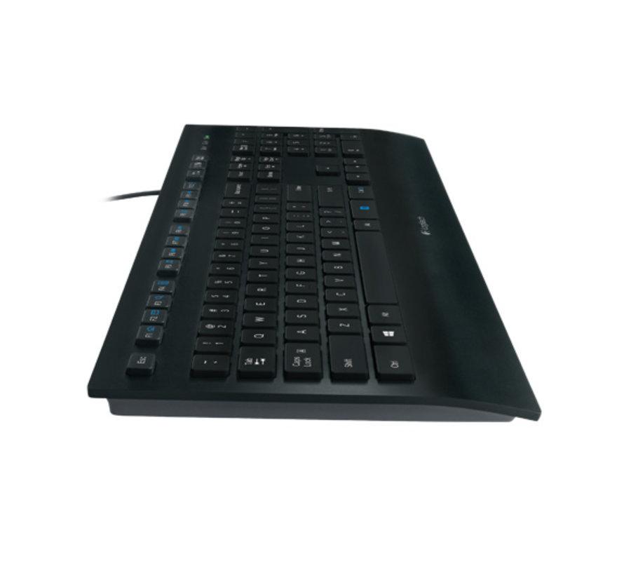 KB Logitech K280 voor Business Zwart bedraad OEM