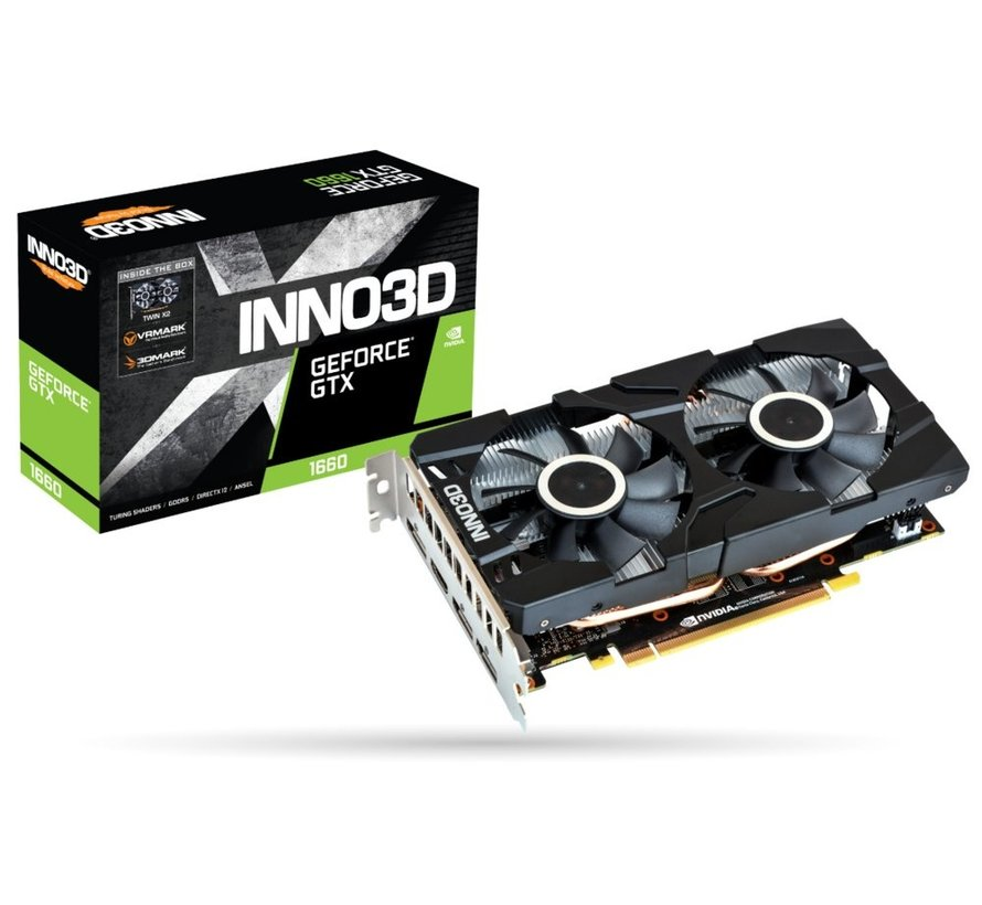 VGA  GeForce GTX 1660 6GB  OC