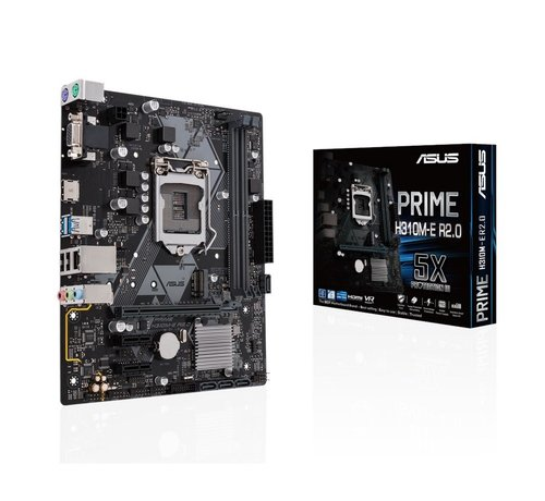 Asus MB  Prime H310M-E R2.0 8th comp /2x DDR4 / HDMI/mATX