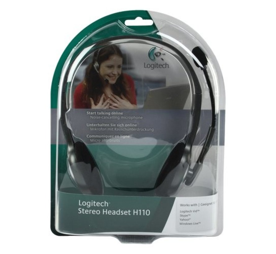 Ret. H110 Stereo Headset (refurbished)