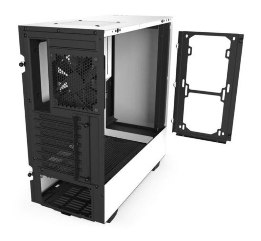 Case  H510 White / Glass window