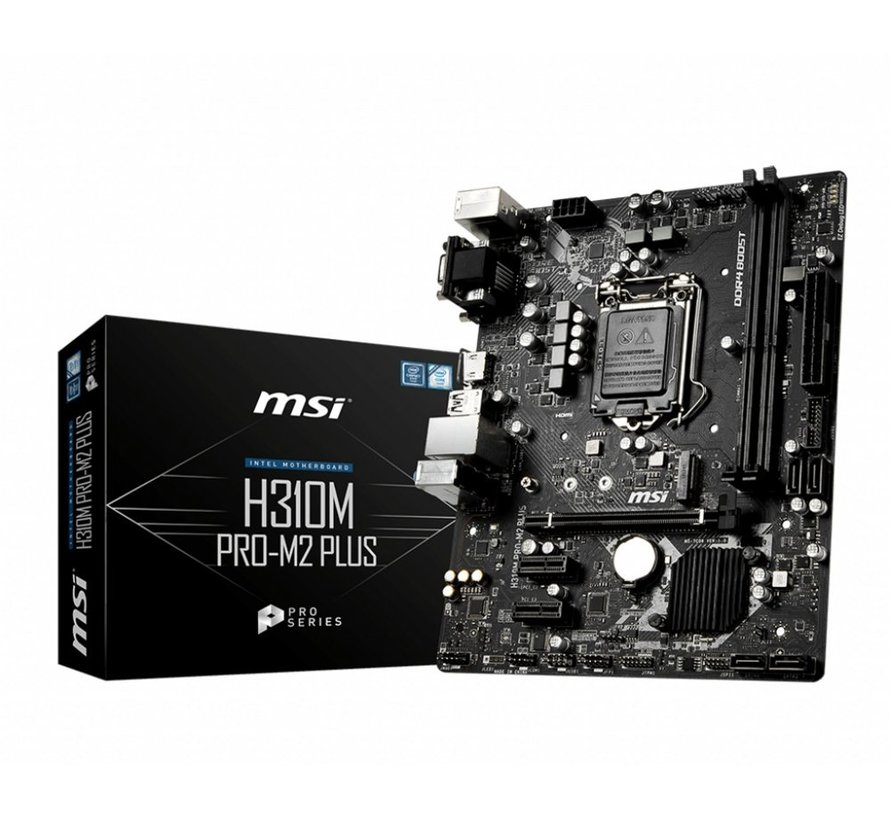 MB  H310M Pro-M2 + /1151 8th comp / m.2 / HDMI / mATX (refurbished)