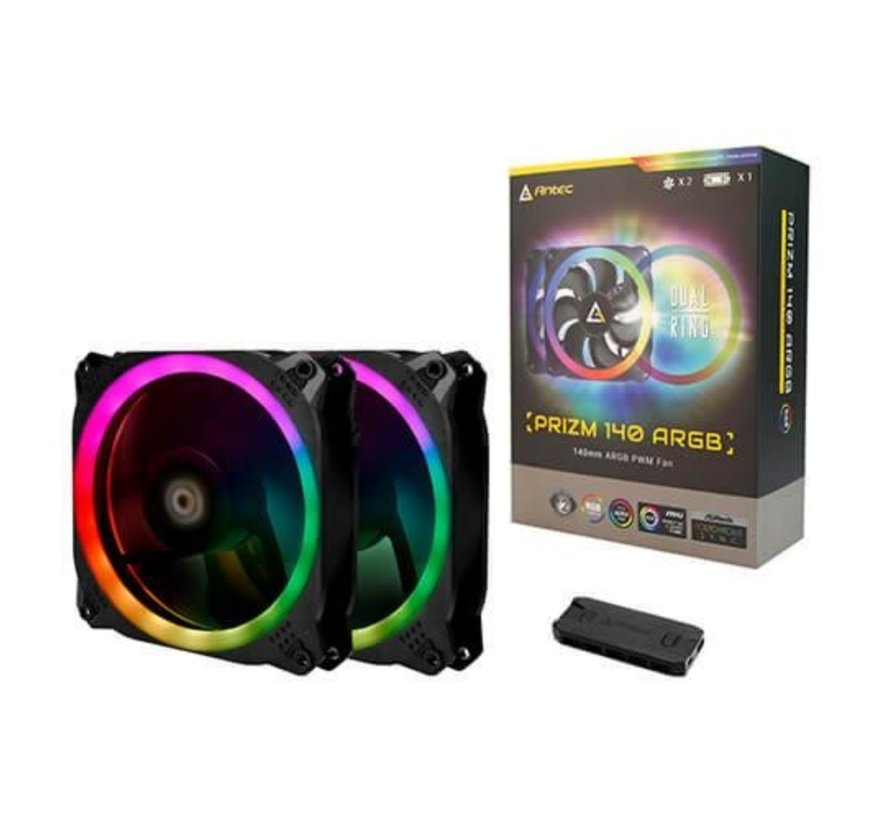 Prizm 140 ARGB 2+C Led Cooler