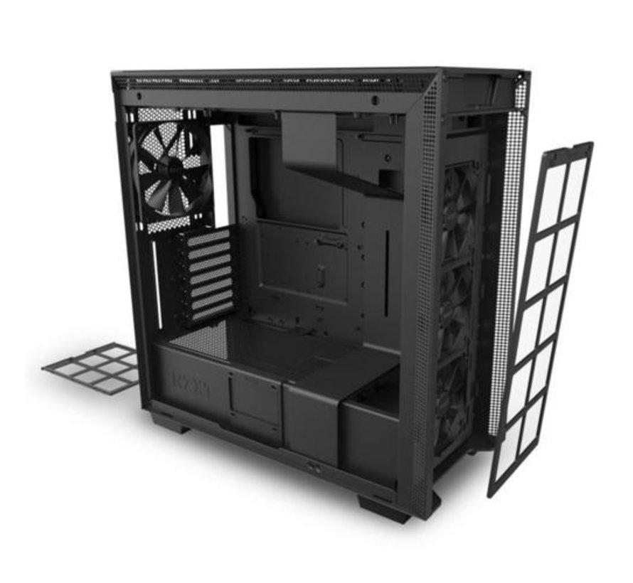Case  H710 Black / Glass window