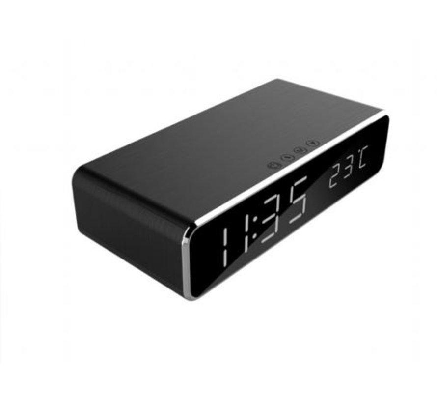 Gembird DAC-WPC-01 wekker Digitale wekker Zwart