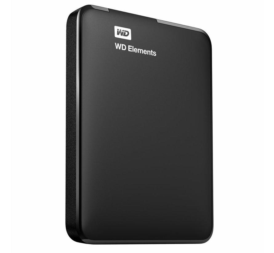 HDD Ext. WD Elements Portable USB 3.0 4TB Zwart