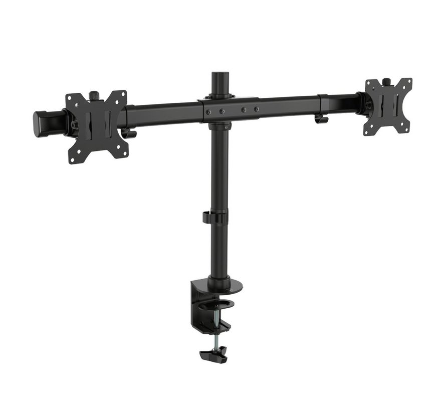 Monitor desk mount stand crossbar 2 LCD