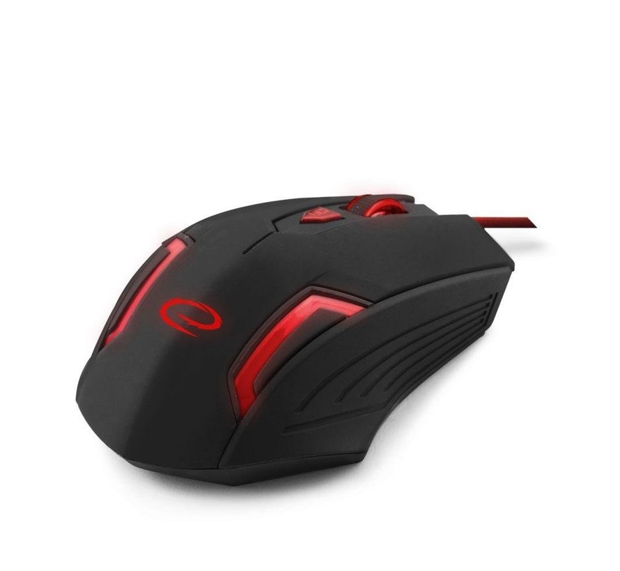 Gaming Mouse MX205 Fighter Black/Red