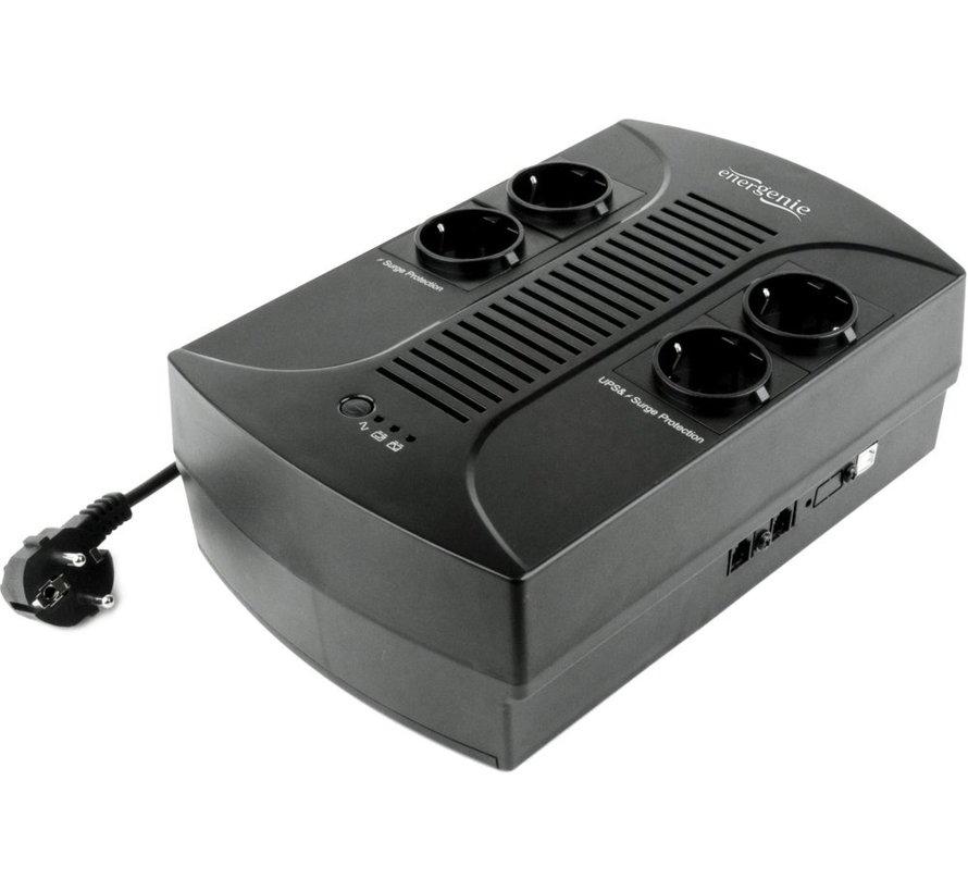 EnerGenie UPS met AVR 850VA 510 220 V