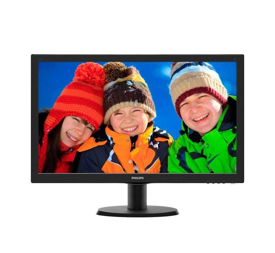 Mon  23.6Inch 243V5LHAB / F-HD / DVI / HDMI / SPK