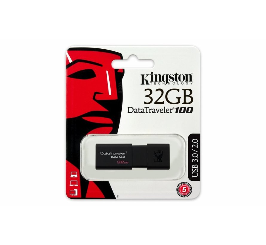 Storage  DataTraveler 100G3 32GB USB3.0