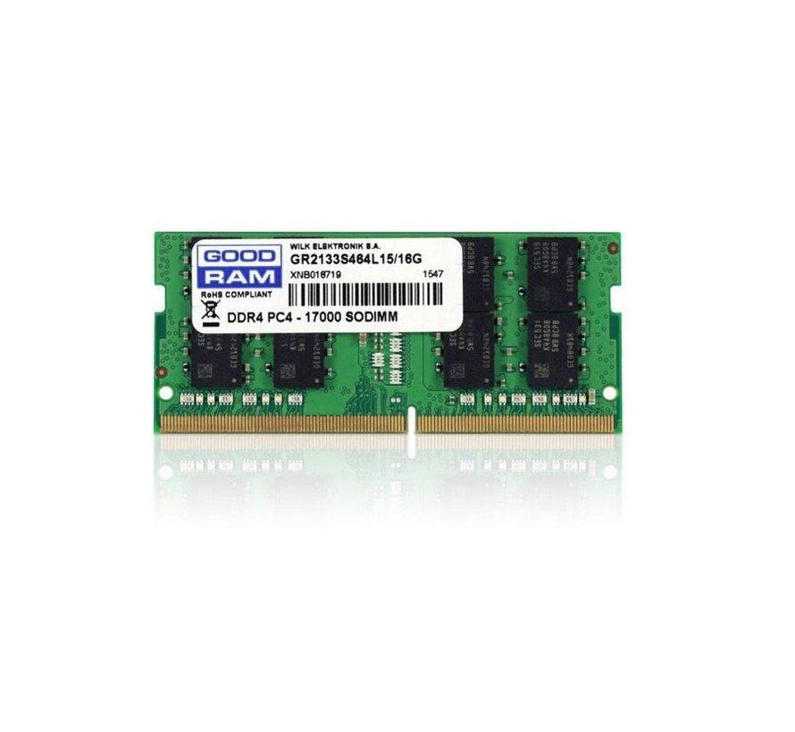 MEM  16GB DDR4/2666 SODIMM