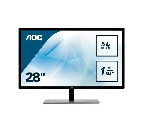AOC Mon  U2879VF 28inch VGA / 4K  / DP / HDMI / DVI