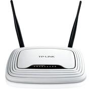 TP-Link TP-LINK TL-WR841N draadloze router Single-band (2.4 GHz) Fast Ethernet Zwart, Wit