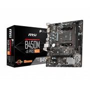 MSI B450M-A PRO MAX Socket AM4 micro ATX AMD B450