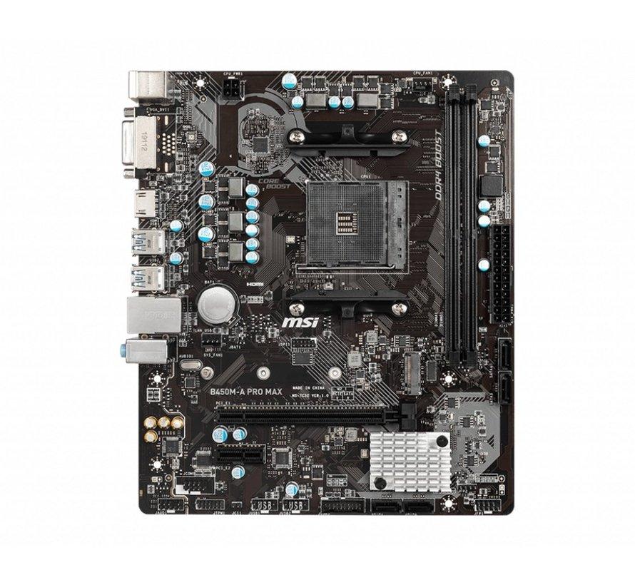 MB  B450M-A Pro Max / AM4 / HDMI / M.2 / mATX
