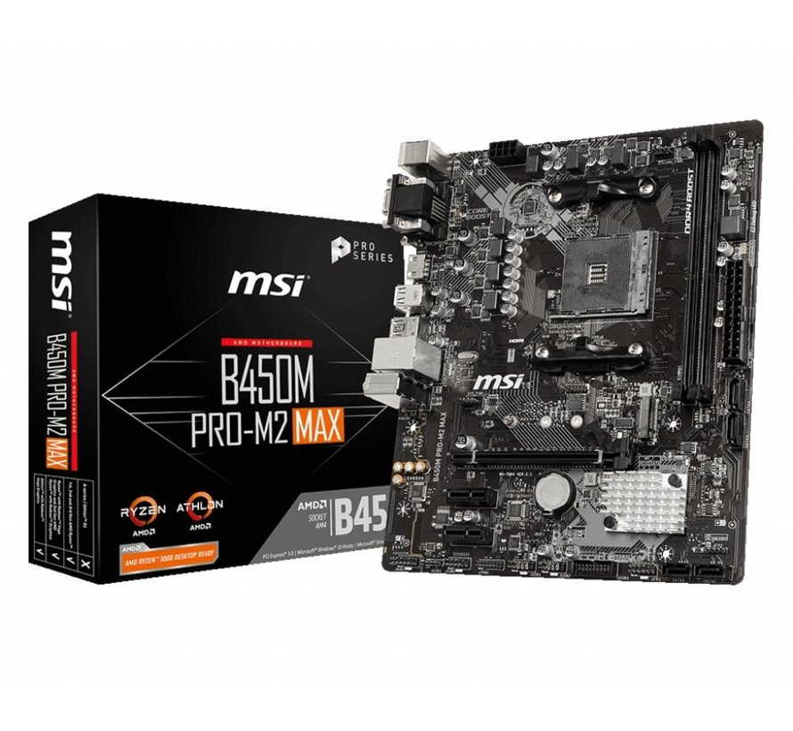 MB  B450M PRO-M2 MAX Socket AM4 micro ATX AMD B450