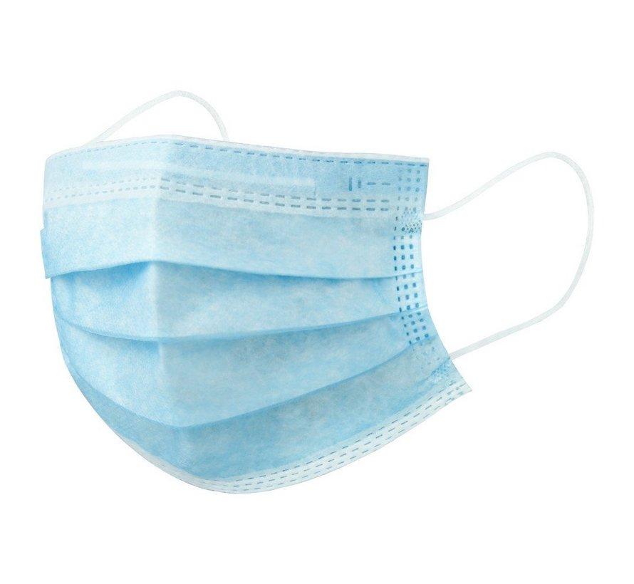 3-laags mondkapje, 50pack, niet medisch