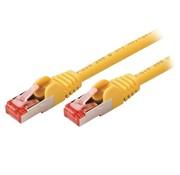 Nedis CAT6 S/FTP-netwerkkabel / RJ45 / 5m / Geel
