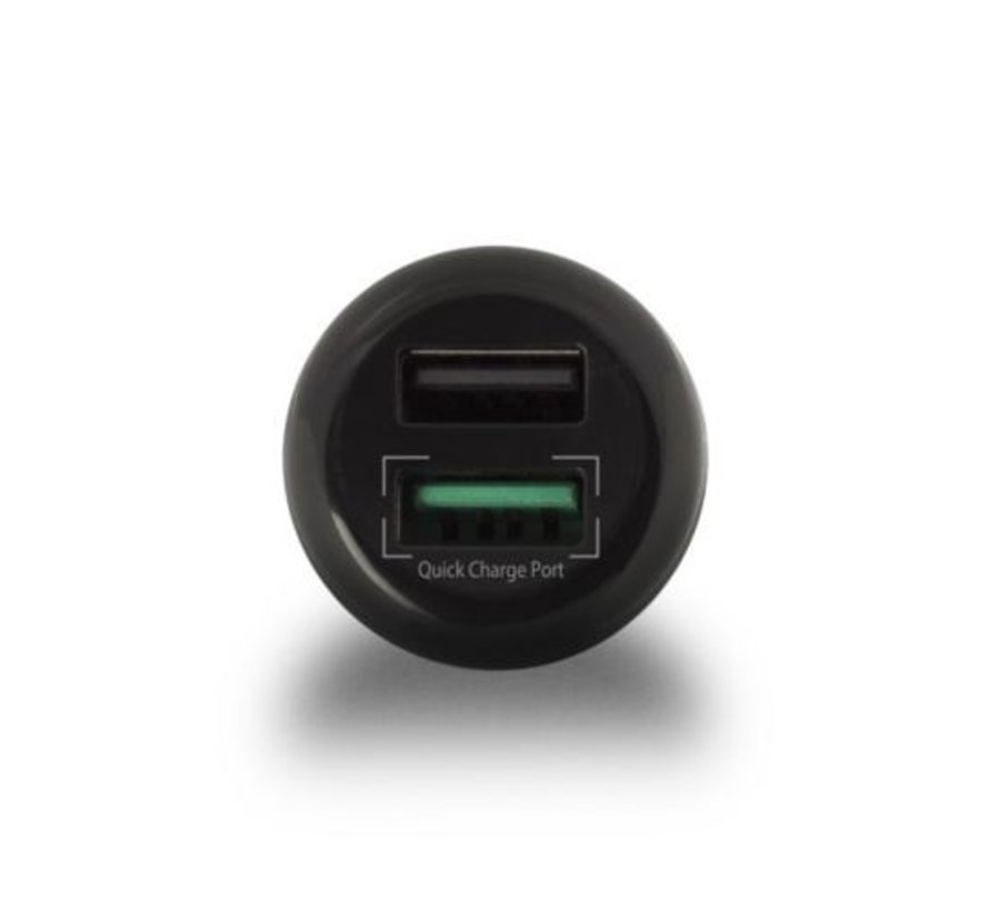 USB Car Charger two port 5A Qualcomm QC3.0