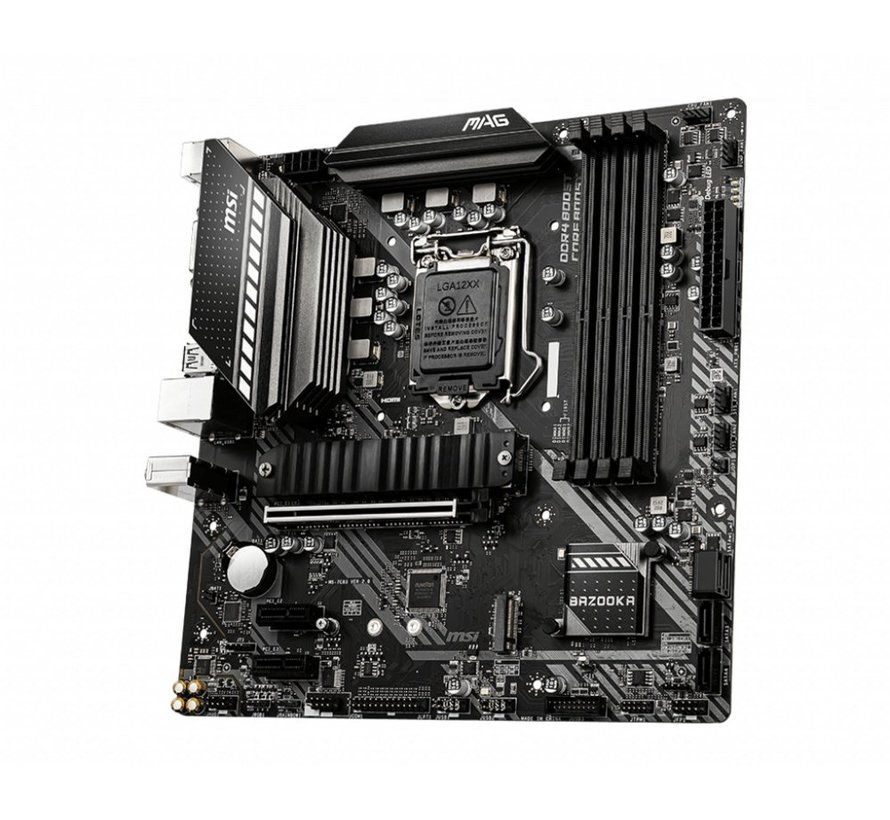 MB  MAG B460M BAZOOKA LGA 1200 micro ATX Intel B460 (refurbished)
