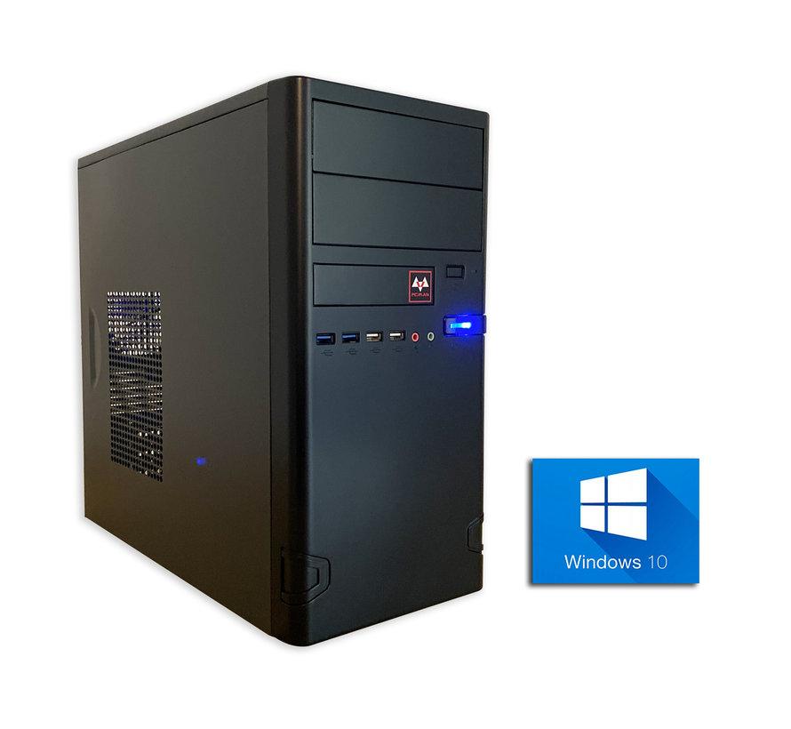 Pcman Desktop Pc intel i3 incl windows 10