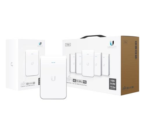 Ubiquiti UniFi AC In-Wall Access Point WiFi 5-Pack