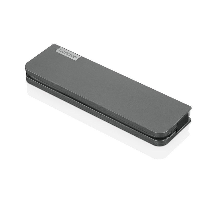 USB-C Mini Docking Station Bedraad Grijs (refurbished)