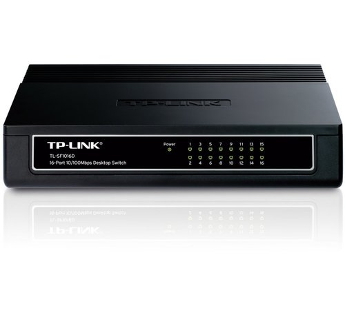 TP-Link TP-LINK TL-SF1016DS netwerk-switch Fast Ethernet (10/100) Zw