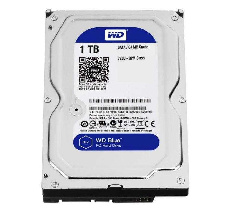 HDD WD BLUE™ 1TB  - 3.5inch- 5400RPM - 64MB - SATA3