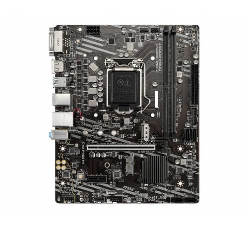 MSI MB  H410M-A Pro / 2 x DDR4 / PCI-E / LGA1200 / mATX