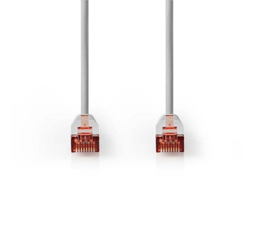 CAT6 S/FTP-netwerkkabel/RJ45 5m Grijs