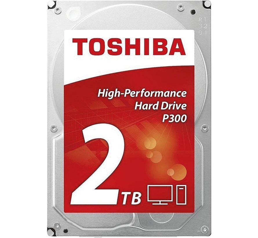 HDD  P300 2TB - 3.5inch - 7200RPM - 64MB - SATA3