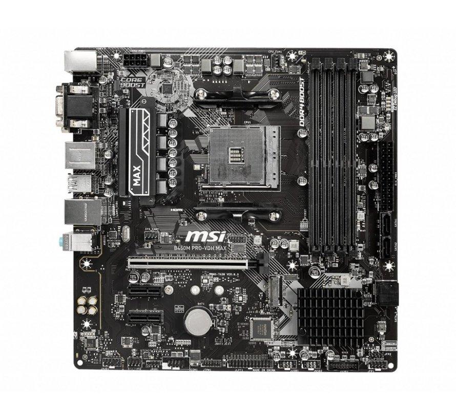 MB  B450M Pro-VDH / Am4 / B450 / 4xDDR4 / Micro-ATX