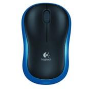 Logitech M185 Wireless Mouse / Blue-Black