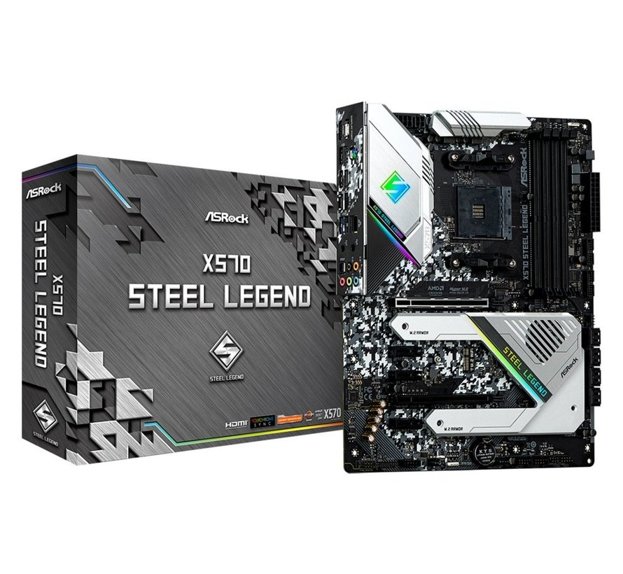 MB  X570 Steel Legend AM4 ATX