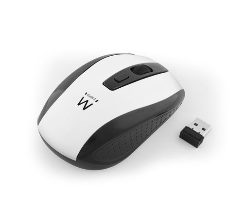 Ewent Wireless mouse white 1000/1200/1600dpi