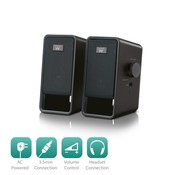 Ewent Speaker set 2.0 AC powered