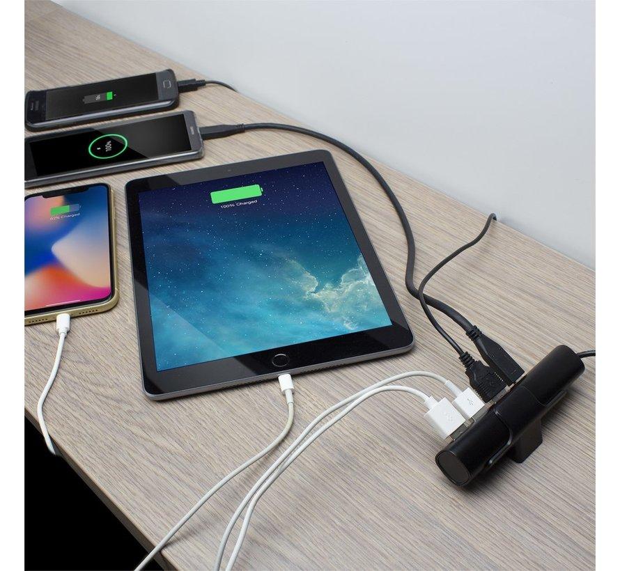 USB Charger 110-240V /  USB-C DP and 3 x USB-A ports,