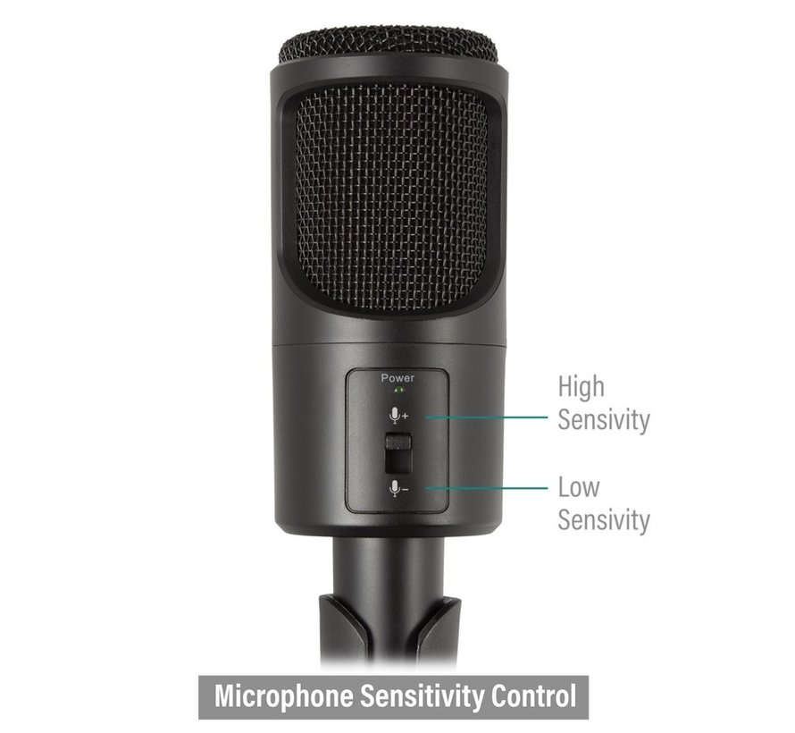 Professional Multimedia Microphone with stand