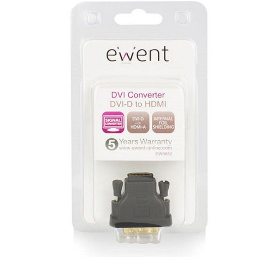 Adapter DVI-D male - HDMI A female