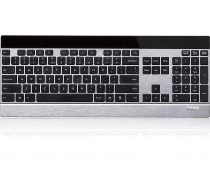 E9270P Ultra-slim Touch Wireless Keyboard - Silver
