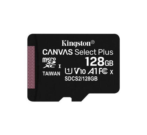 Kingston SD  Micro SDXC Technology Canvas Select Plus 128 GB