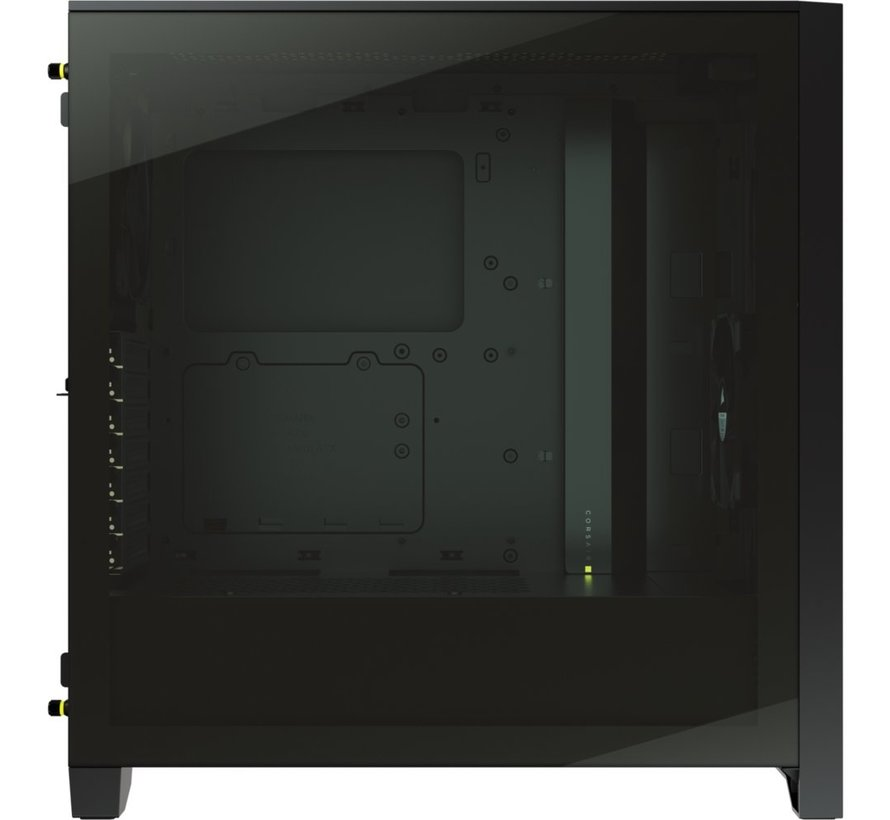 Case  4000D Airflow Midi Tower Tempered Glass