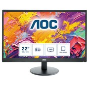 AOC MON  E2270SWdN 21.5inch / LED / VGA / DVI  / FULL-HD / RETURNED (refurbished)