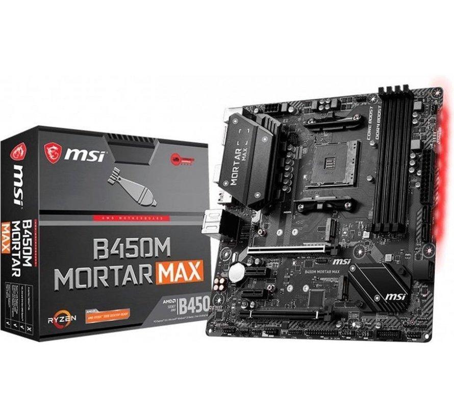 MB  B450M Mortar Max Socket AM4 micro ATX AMD B450