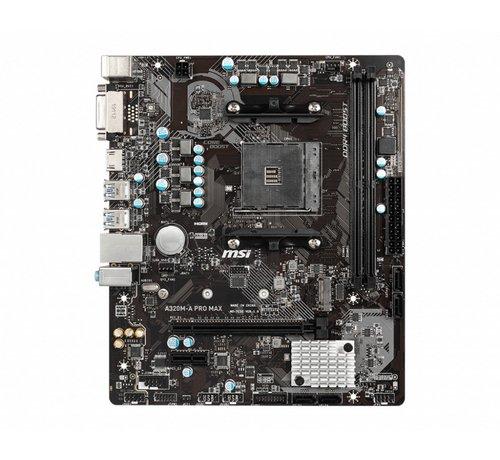 MSI MB  A320M-A PRO MAX / AM4 / 1x PCI-E / m.2 / mATX